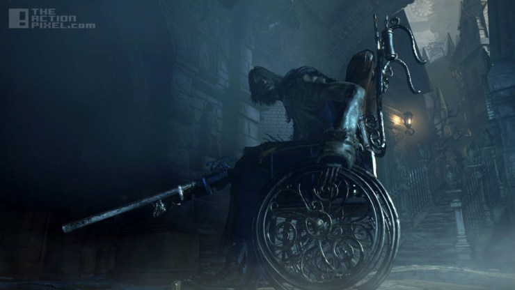 Bloodborne. THE ACTION PIXEL @theactionpixel from software