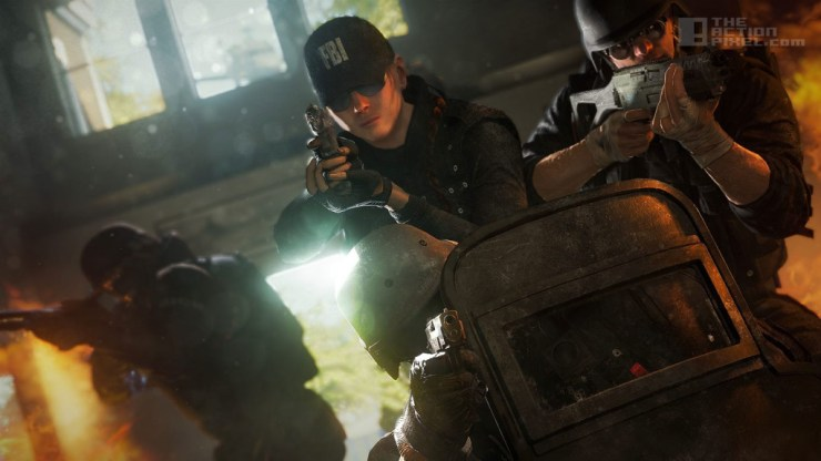 TOM CLANCY'S RAINBOW 6: SIEGE. THE ACTION PIXEL. @THEACTIONPIXEL UBISOFT