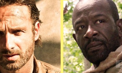 rick and morgan The Walking Dead. Image comics. AMC. the action pixel. @theactionpixel