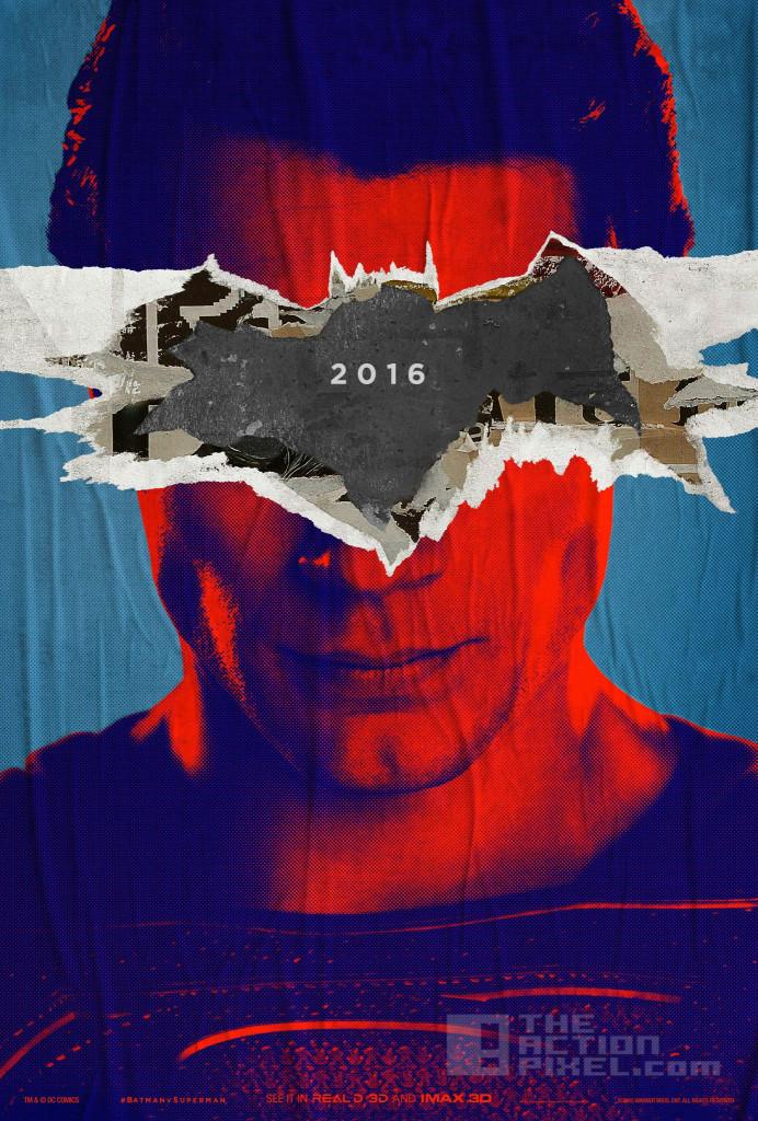 superman poster. Batman v superman: Dawn of justice. The action pixel. @theactionpixel. DC comics, WB