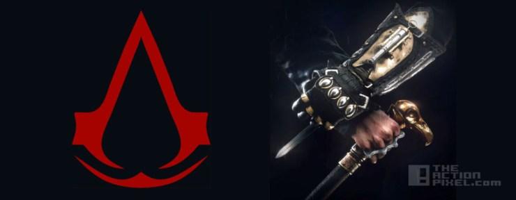 assassins creed Title. ubisoft. the action pixel. @theactionpixel