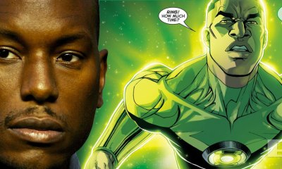 tyrese gibson green lantern? the action pixel. @theactionpixel