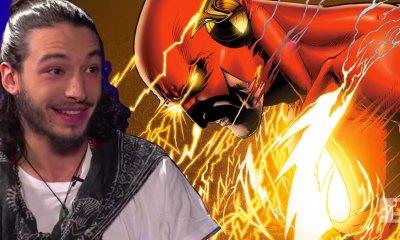 ezra miller is the flash. dc comics. the action pixel. @theactionpixel