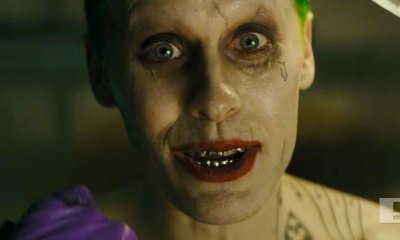 joker played by jared leto. suicide squad. dc comics. wb. the action pixel. @theactionpixel