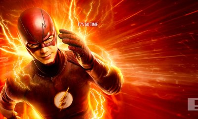 "The flash ""It's go time"" poster. entertainment on tap. the action pixel. @theactionpixel"