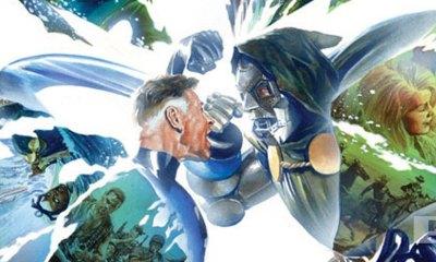 secret wars issue 9 cover. alex ross. marvel. the action pixel. @theactionpixel