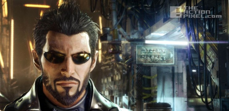deus Ex. mankind divided. the action pixel. @theactionpixel. eidos.