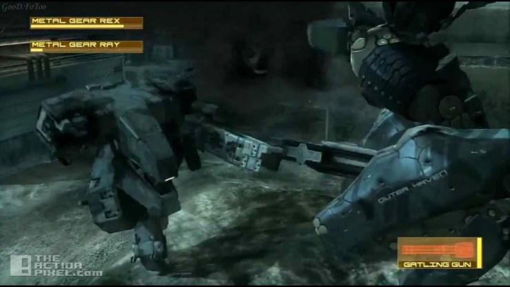 metal gear solid 4. guns of the patriots. konami. entertainment on tap. the action pixel. @theactionpixel