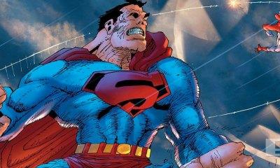 dark knight universe. superman. atom. dark knight III. the master race. the action pixel. @theactionpixel