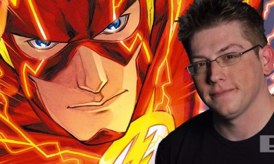 the flash director seth Grahame-Smith. dc comics. wb. entertainment on tap. the action pixel. @theactionpixel