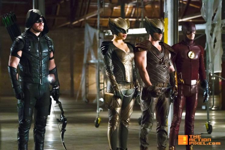 arrow. the flash. dc's legends of tomorrow. hawkman. hawkgirl. the action pixel. @theactionpixel