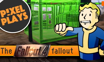 pixel plays. the fallout fallout. fallout 4. bethesda softworks. the action pixel. entertainment on tap. @theactionpixel