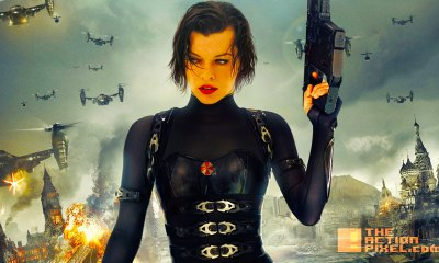 resident evil. milla jovovich. Alice. the action pixel. @theactionpixel