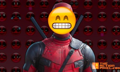 emoji. deadpool. 20th century fox. the action pixel. @theactionpixel