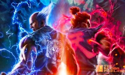 Akuma and Heihachi. tekken 7. street fighter. capcom. bandai namco. the action pixel. @theactionpixel