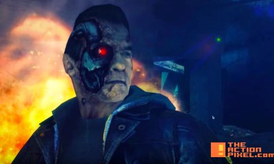 terminator genysis. Arnold Schwarzenegger . the action pixel. entertainment on tap