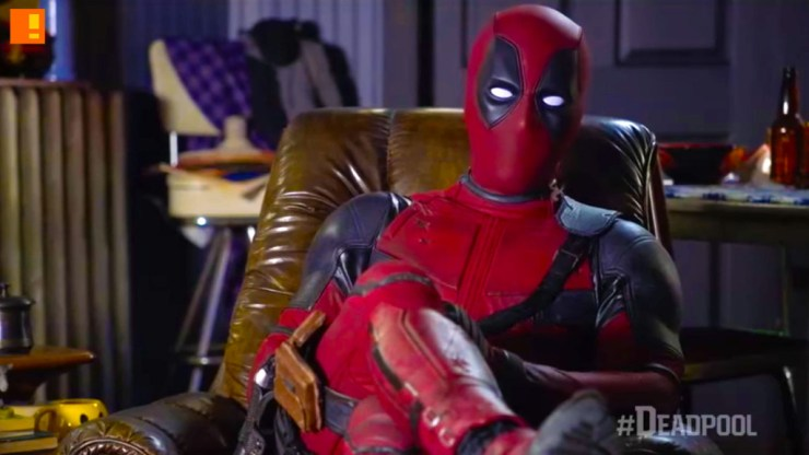 DEADPOOL. 20TH CENTURY FOX. MARVEL. THE ACTION PIXEL. ENTERTAINMENT ON TAP. @THEACTIONPIXEL