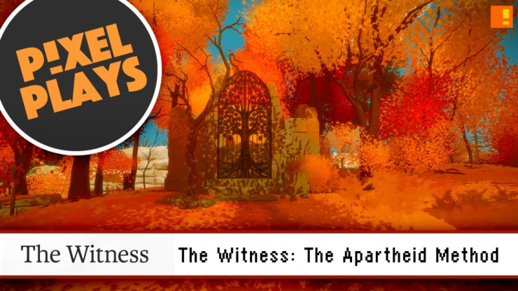 the witness. jonathan blow.  the action pixel. @theactionpixel. pixel plays