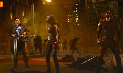daredevil Season 2. netflix. marvel. elektra. the punisher. the action pixel. @theactionpixel