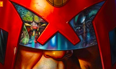 Predator vs. Judge Dredd vs. Aliens, aliens, predator, judge dredd, idw, comics, dark horse, 2000 ad, comic series, entertainment on tap, the action pixel