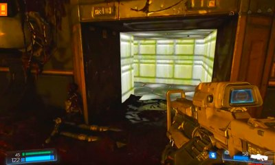 doom, classic, secret level, hell, mars, easter egg, level, access, id software, bethesda, trailer, gameplay, walkthrough, 1993 game,shooter,