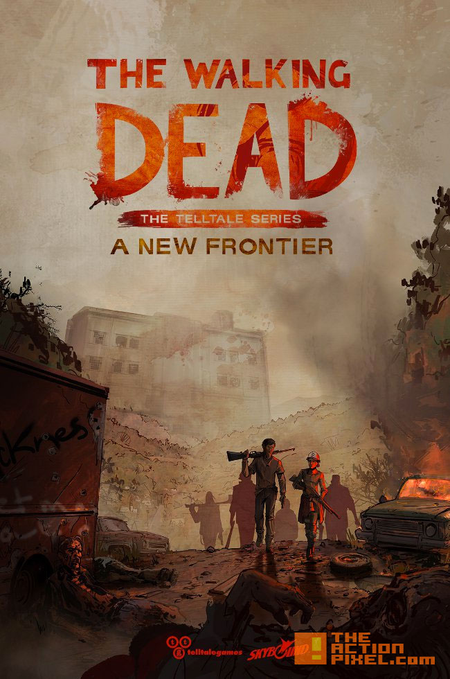 the walking dead, the telltale series, telltale games, Season 3,poster, a new frontier, clementine, images, teaser, release date