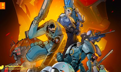 overwatch, First strike, comic, blizzard, blizzard entertainment, graphic novel, comic, first person , shooter,
