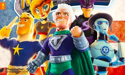 supermansion, crackle, the action pixel, entertainment on tap, titan comics, preview,