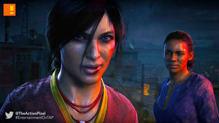 uncharted: the lost legacy, uncharted, the lost legacy, naughty dog, the action pixel, entertainment on tap