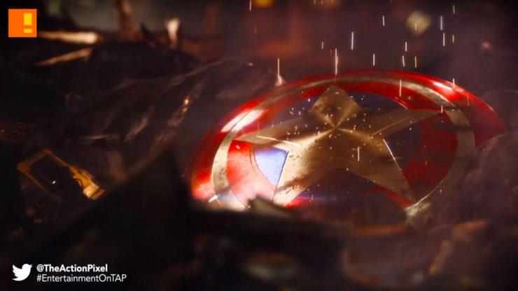 thor, hammer, Mjolnir , shield, captain america, hammer, crystal dynamics, square enix, marvel, video game,§