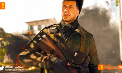 sniper elite 4, ps4, playstation 4, the action pixel,entertainment on tap,