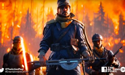 battlefield 1, they shall not pass, trailer, dlc, entertainmment on tap, the action pixel, electronic arts,