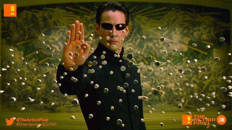 matrix, bullet time, bullets, warner bros. pictures,