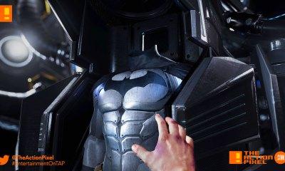 BATMAN ARKHAM VR, BATMAN, ARKHAM, DC COMICS, ROCKSTEADY STUDIOS, WB GAMES, DC COMICS, BATMAN MASK, OCULUS, HTC, OCULUS RIFT, RIFT, ENTERTAINMENT ON TAP, THE ACTION PIXEL