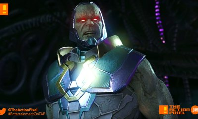 brainiac, darkseid, apokolips,omega beams, wonder woman, batman, injustice 2, injustice 2, the action pixel entertainment on tap, injustice, dc comics, dc characters, netherrealm studios, wb games, shattered alliances ,part 5, shattered alliances part 5,