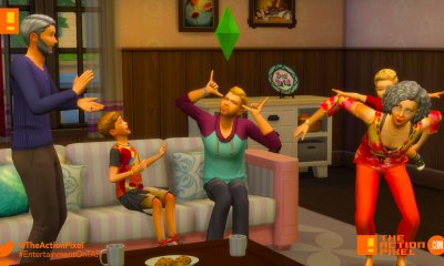 the sims 4 parenthood, parenthood, the sims, the sims 4, trailer, the action pixel, ea, ea games,entertainment on tap,