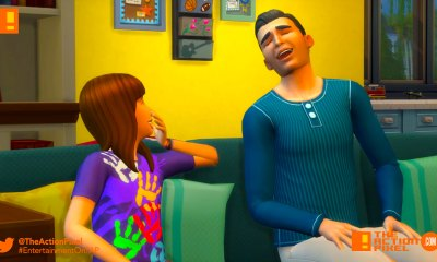 the sims 4 parenthood, parenthood, the sims, the sims 4, trailer, the action pixel, ea, ea games,