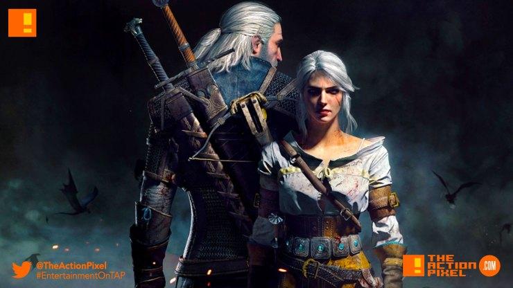 the witcher 3: wild hunt, Geralt, netflix, entertainment on tap, the action pixel, @theactionpixel