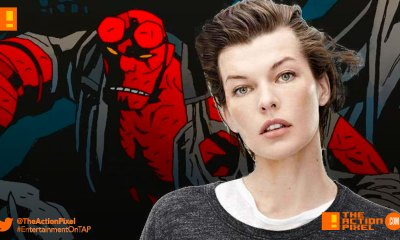 milla jovovich, blood queen, hellboy and the blood queen, entertainment on tap, the action pixel,