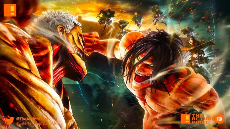 aot, attack on titan 2, koei tecmo, the action pixel, entertainment on tap,
