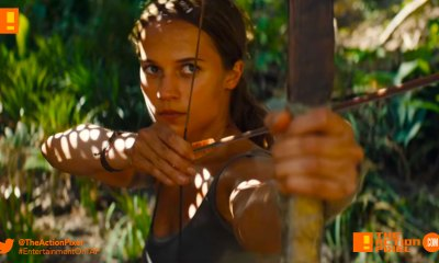 trailer, TOMB RAIDER, ALICIA vikander, lara croft, first look, entertainment on tap, the action pixel,