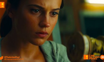 tomb raider, trailer 2, the action pixel, alicia vikander, bts, trailer, TOMB RAIDER, ALICIA vikander, lara croft, first look, entertainment on tap, the action pixel,