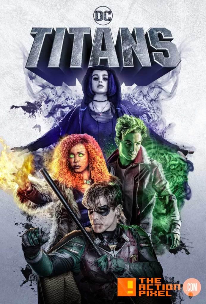 titans, poster, dc comics, dc, starfire ,raven, beast boy, brenton thwaites, anne diop, ryan potter, brenton thwaites, costume, beast boy, ryan potter, teen titans ,titans, the action pixel, casting , dc comics,nightwing, Brenton Thwaites, dc comics , titans, the action pixel, robin, TEAGAN CROFT, raven, starfire, dc comics, the action pixel, anna diop, entertainment on tap,dove, hawk, Hank Hall, minka kelly, Alan Ritchson, dawn granger, the action pixel, titans, dc comics, dc entertainment,entertainment on tap,casting, cast, trailer,dc daily,