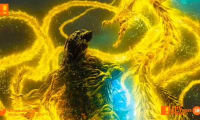 godzilla, godzilla: stareater, godzilla: planet eater, godzilla, planet eater, godzilla planet eater, godzilla planet eater trailer, toho animation, polygon pictures, the action pixel, entertainment on tap,poster