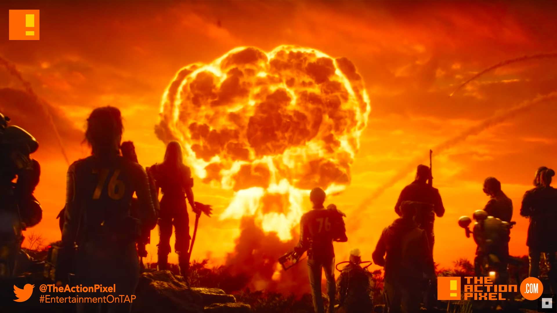 """Fallout 76"""" Official Live Action Trailer will have you basking in"""