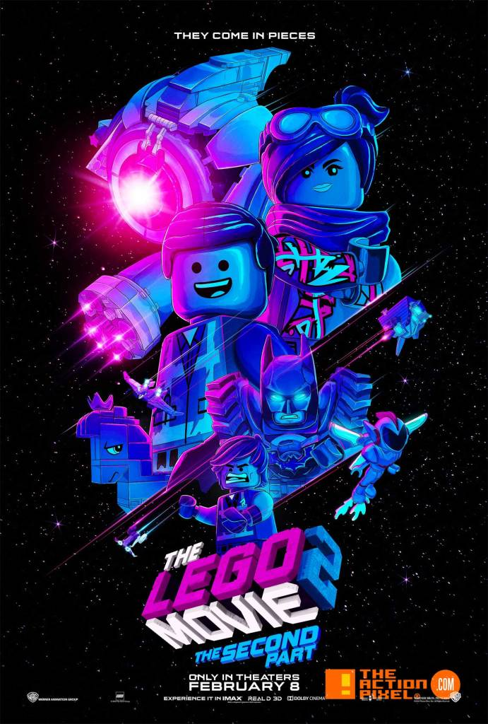 lego movie 2, the lego movie 2, poster, the second part, wyldstyle, warner bros. animation, the action pixel , entertainment on tap