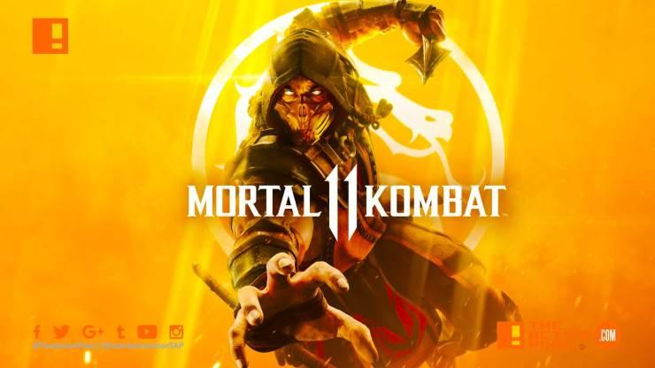 mortal kombat 11, mortal kombat, mk 11, mk, scorpion, raiden, the action pixel, key art, package art, entertainment on tap,the action pixel