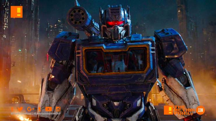 optimus prime, bumblebee, new trailer, transformers, paramount pictures, Bumblebee, Hailee Steinfeld ,John Cena, Travis Knight ,Bumblebee Movie, the action pixel, entertainment on tap, first look, image,bumblebee movie, bumblebee trailer,bumblebee review, bumblebee movie review, film review,