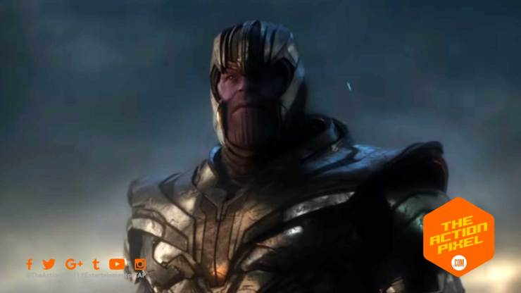 avengers, avengers: endgame, special look, thanos, captain america, marvel comics, marvel studios, marvel, marvel endgame , avengers endgame, avengers endgame release date, iron man, tony stark, steve rogers, chris evans, robert downey jr., trailer, avengers endgame trailer, the action pixel, entertainment on tap,