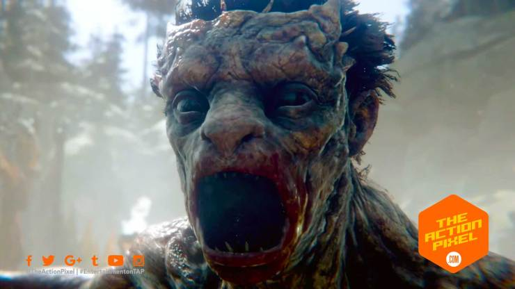 darkborn, the outsiders, project wight, the action pixel, entertainment on tap,gameplay trailer, reveal trailer, featured,